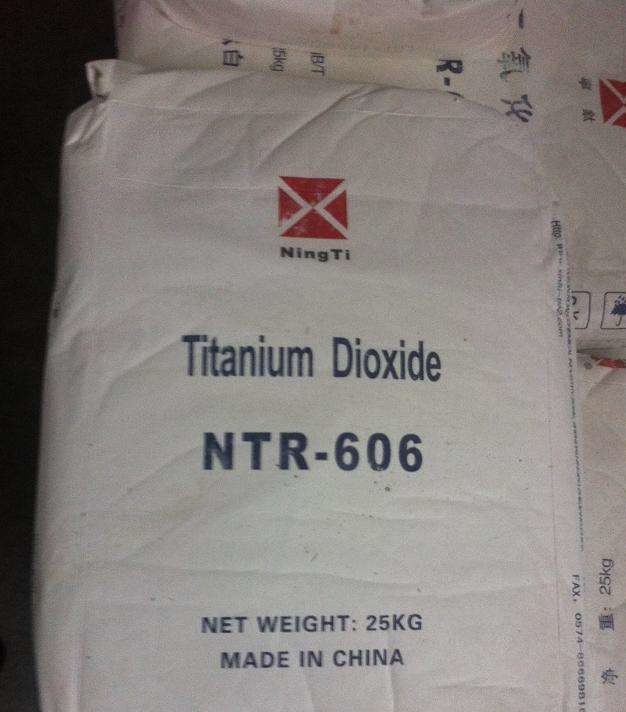 Industrial Grade Rutile Titanium Dioxide Ntr-606