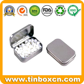 Metal Mint Tin Box, Gum Tin Cans, Candy Tin