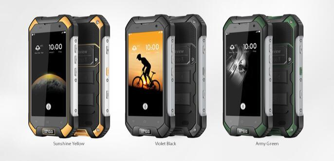"""Blackview BV6000 Smartphone 4G Lte Waterproof IP68 4.7"""" HD Mt6755 Octa Core Android 6.0 Mobile Cell Phone 3GB RAM 32GB ROM 13MP Orange Color"""