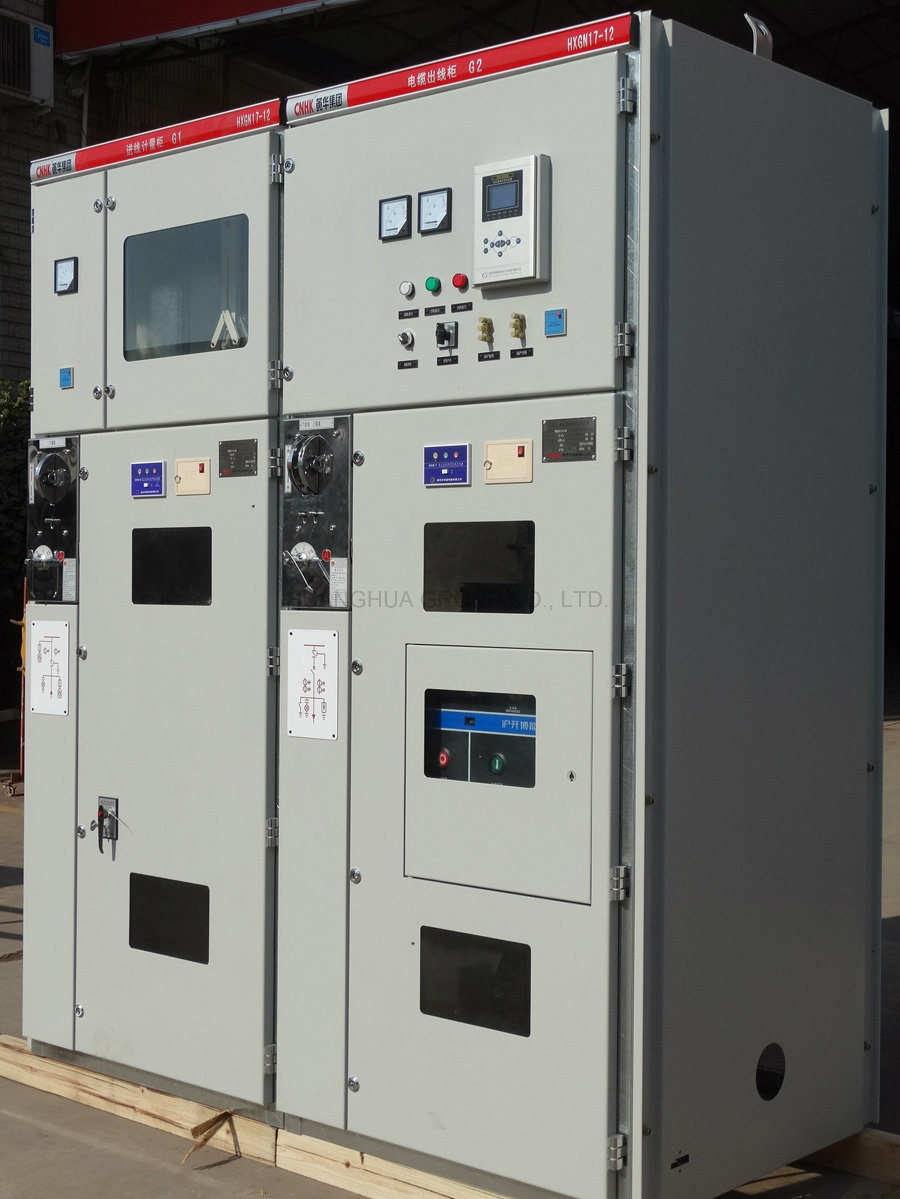 Hxgn17-12 AC Metal-Clad Fixed Type High Voltage Switchgear