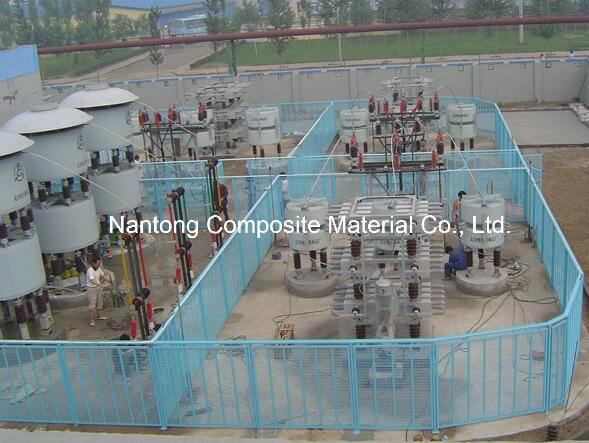 Fiberglass Machine Guard and Fencing/GRP FRP Fencing Products