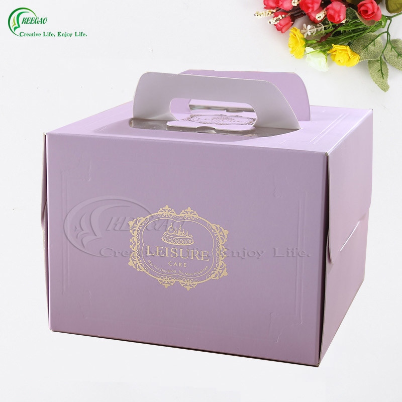 Custom Cardboard Packaging Paper Box for Clothing/Gift/Jewelry/Cake/Cosmetic (KG-PX037)
