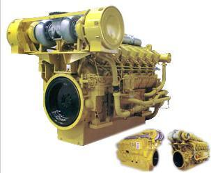 Series 3000 Marine Engine (810KW-1200KW) Water Cooled Lightweight Low Fuel Consumption