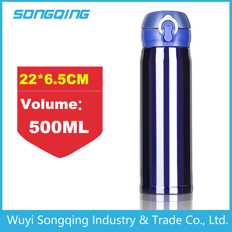 Double Wall Stainless Steel Thermos Vacuum Flask coffee Mug for Adult