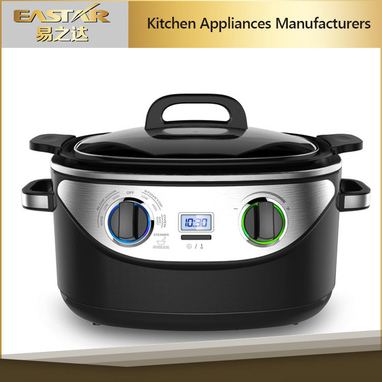 8 in 1 Multi Function Stainless Steel Slow Cooker