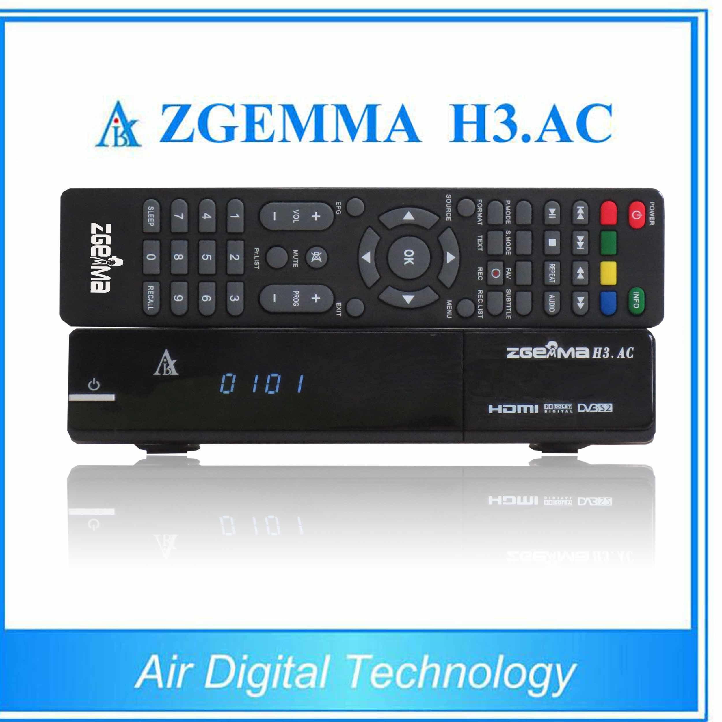 North America ATSC + Satellite Receiver DVB S/S2 Zgemma H3. AC
