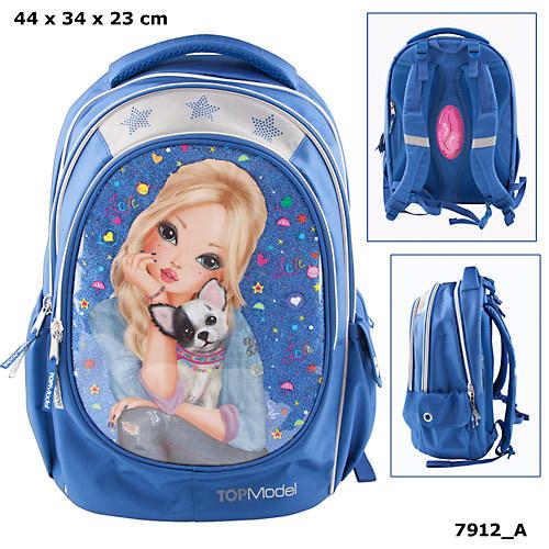 Top Model School Backpack Friends Design