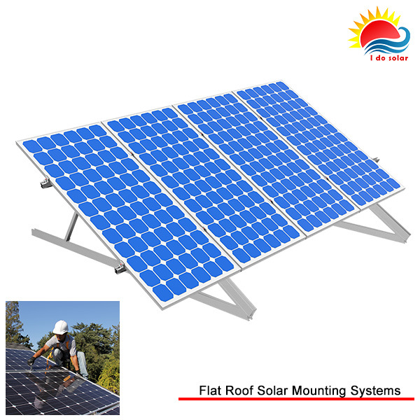 Solar Energy Adjustable Flat Roof Mounting System (NM0362)