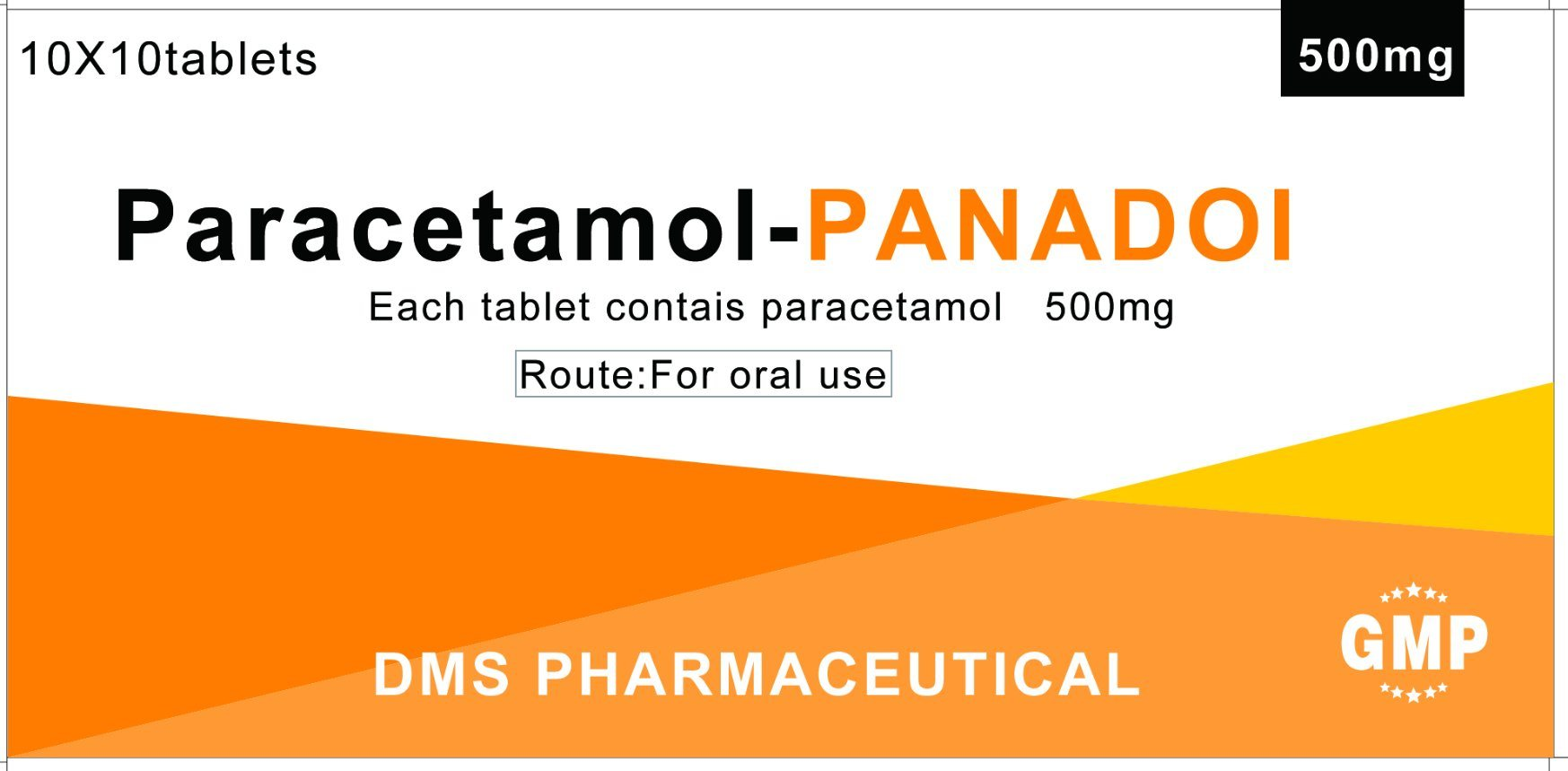 Paracetamol Tablets GMP FDA Approved