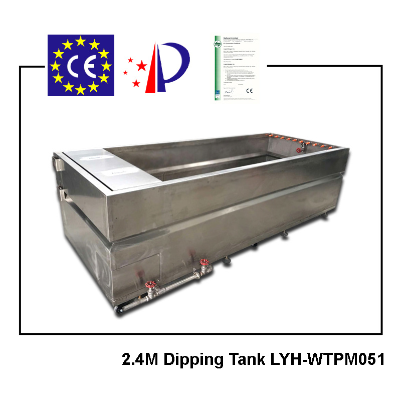 Water Transfer Dipping Tank 2.4m Size Manual Printing Machine Lyh-Wtpm051