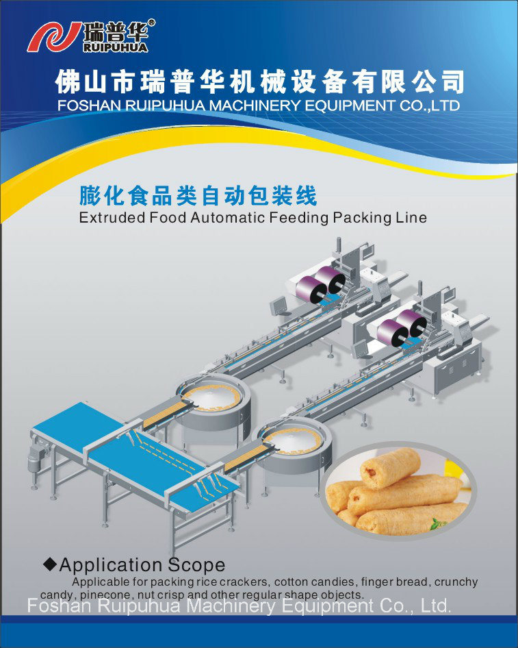 Turntable Type Automatic Feeding and Packing Line/System