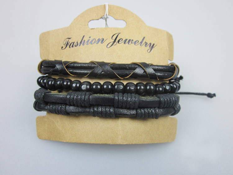 Men Leather Bangles, Man Bracelets, Fashion Accessories Jewelry Bracelet