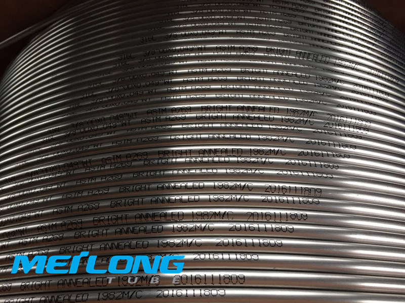 N08825 Nickel Alloy Downhole Capillary Chemical Injection Tubing