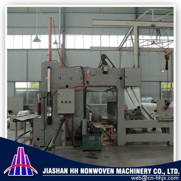 1.6m PP Spunbond Nonwoven Fabric Slitting/Cutting Machine
