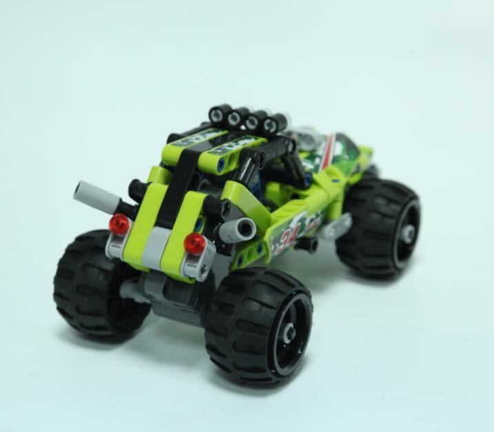 Desert off-Road Pull Back Blocks Toy for Children
