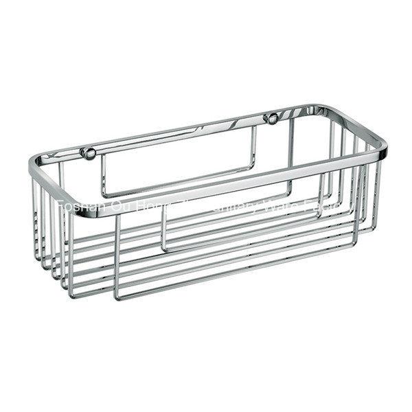 Corner Stainless Steel Bathroom Accessories Net Storage Rack Shelf
