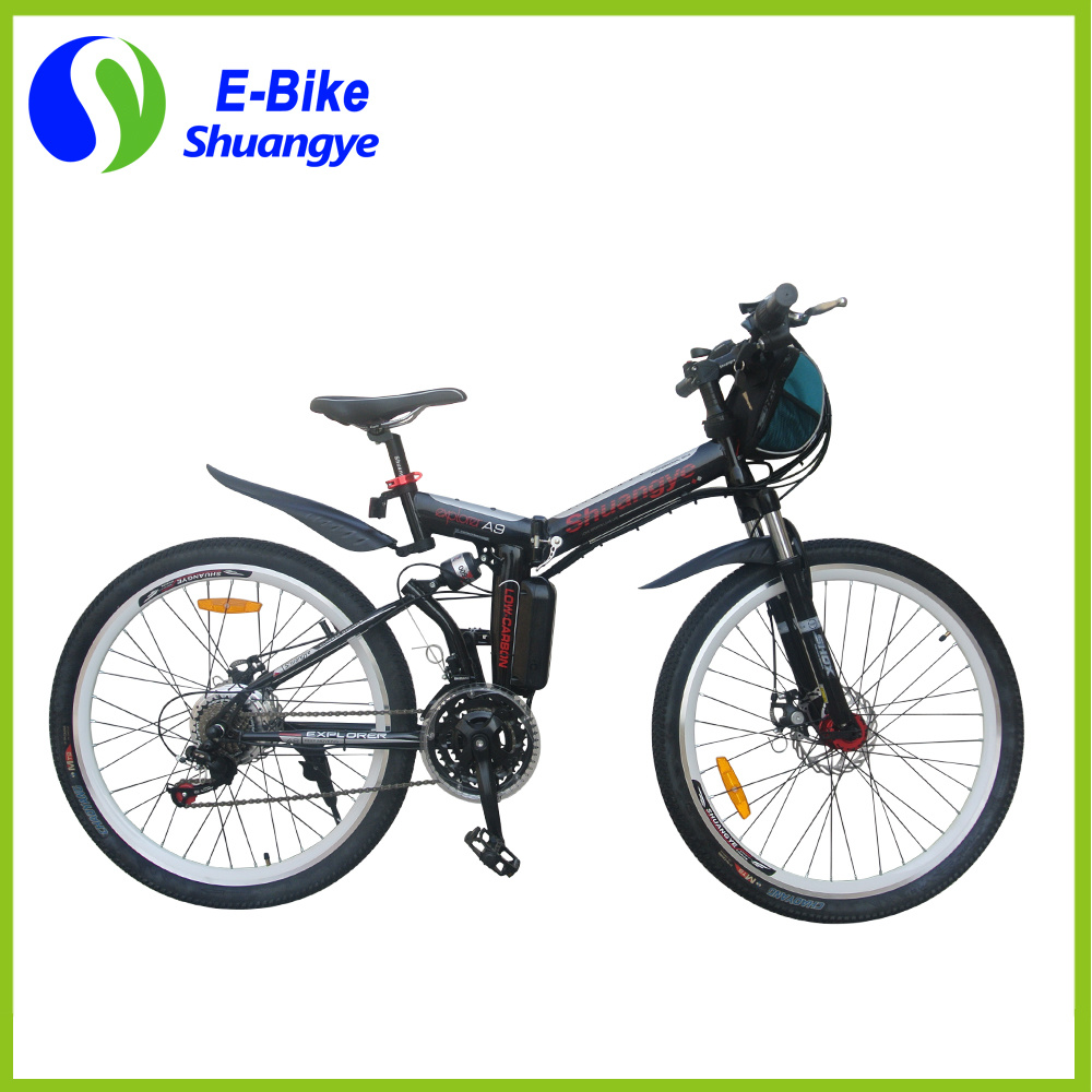 26 Inch Folding 21 Gears 36V Mountain Electric Bicycle