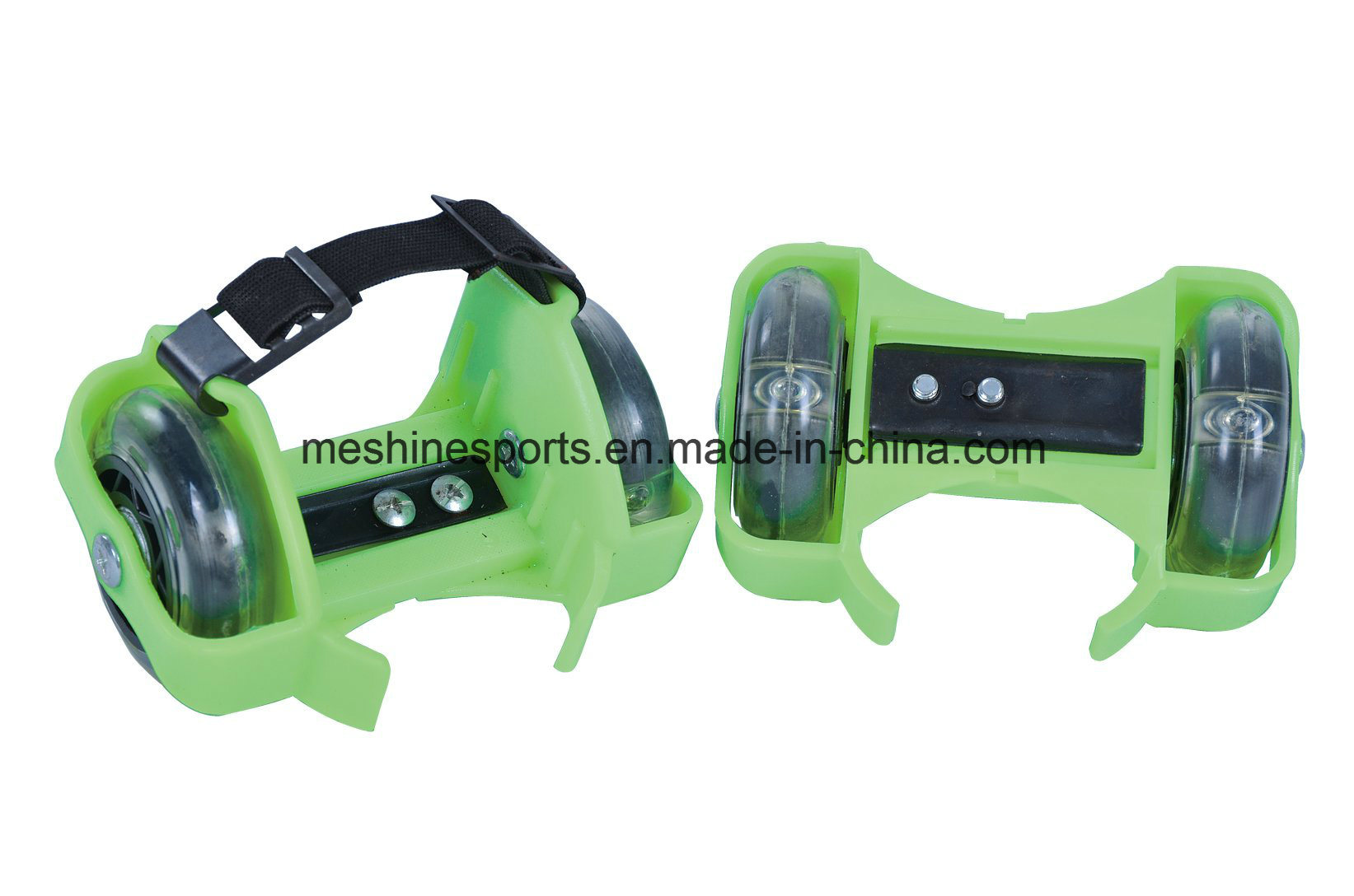 Ce Approval Two-Wheel Adjustable Flashing Roller Shoes for Skate