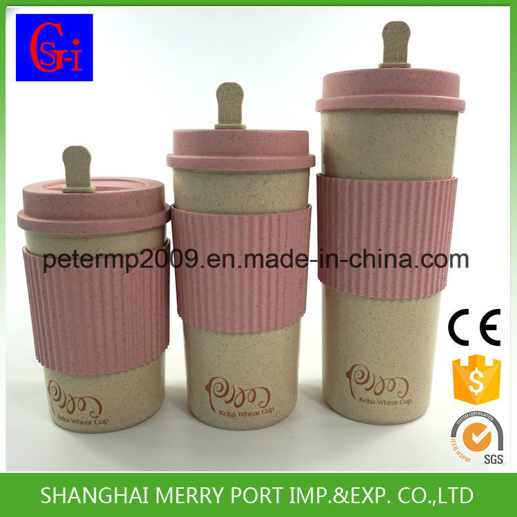 Custom Avaliable Wheat Fiber Coffee Cups (SG-WF1100-A)