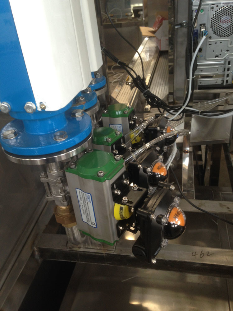 Automatic Water Meter Test Bench for Dn25