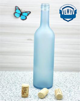 500ml, 750ml High-Grade Lead-Free, Transparent, Amber, Blue Water Bottles, Beverage Bottles, Wine Bottles