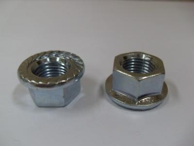 DIN6923 Hexagon Flange Nut Carbon Steel