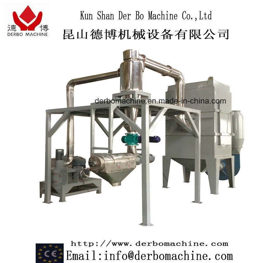 High Output Acm Grinder System for Powder Coatings