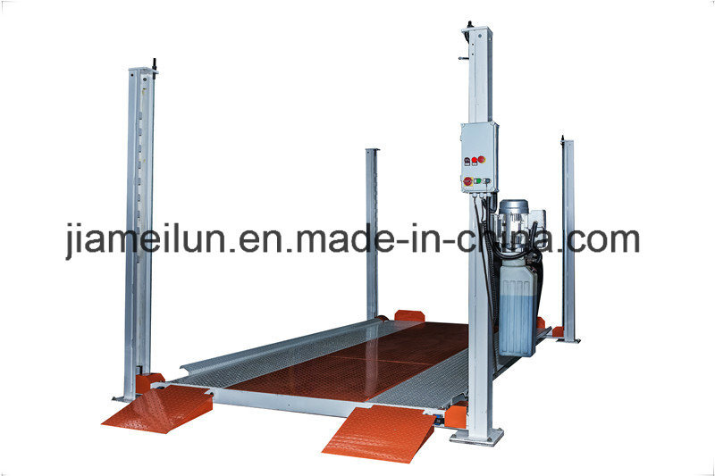 Four Post Machine for Lifting Vehicles Car Parking System