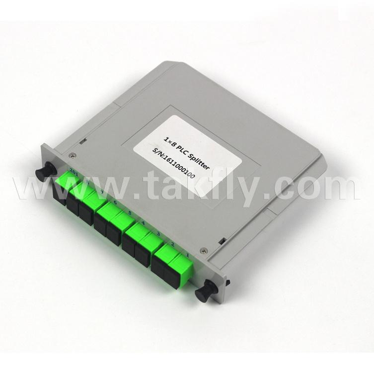 1*4 1*8 1*16 1*32 1*64 Sc/Upc Mini Fiber Optic PLC Splitter