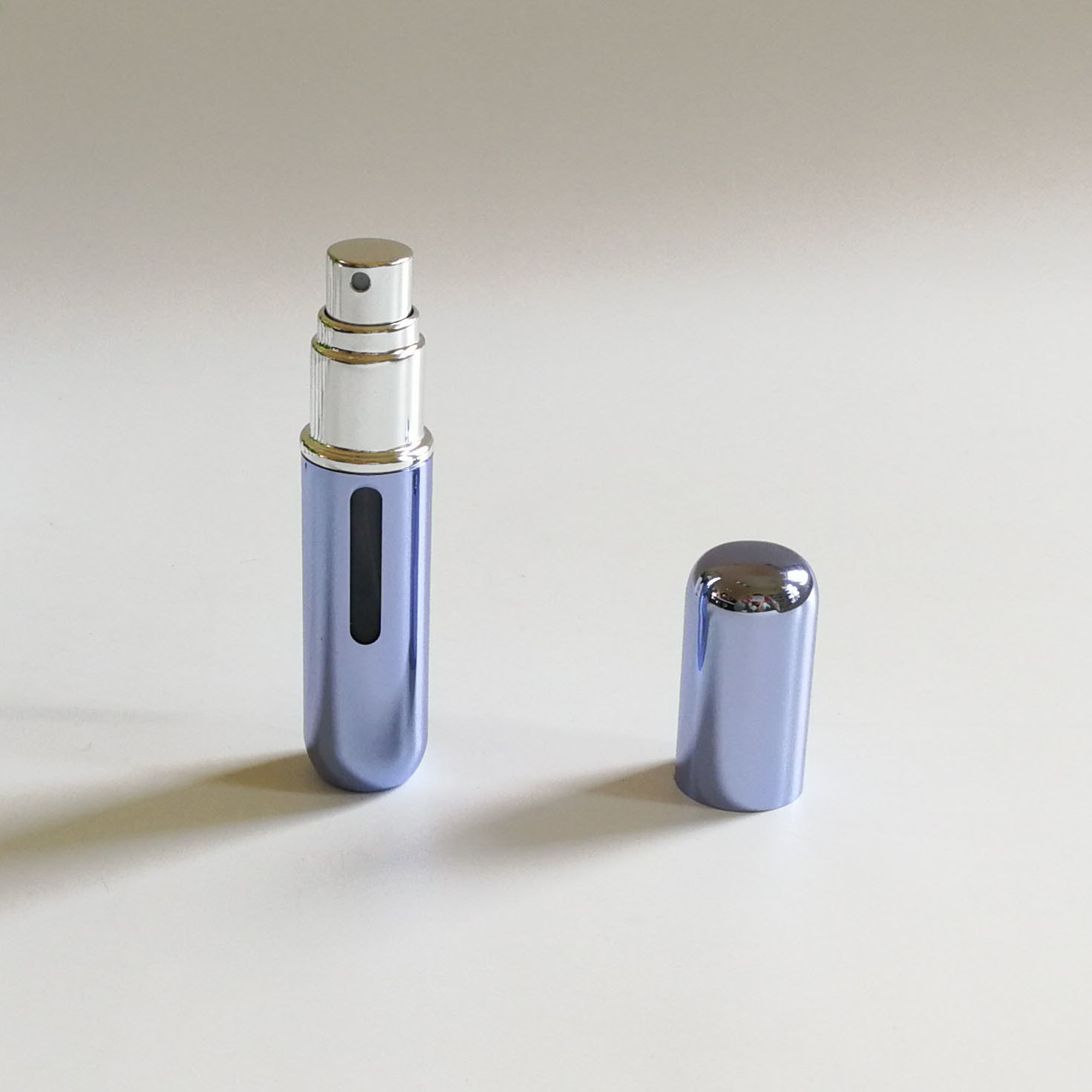 5ml Aluminum Perfume Spray Atomizer with Window on Casing (PPC-AT-1702)