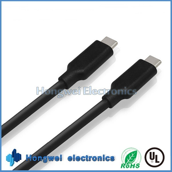 100W Superpower 10gbps Dual USB 3.1 Type C to Type C Data USB Cable