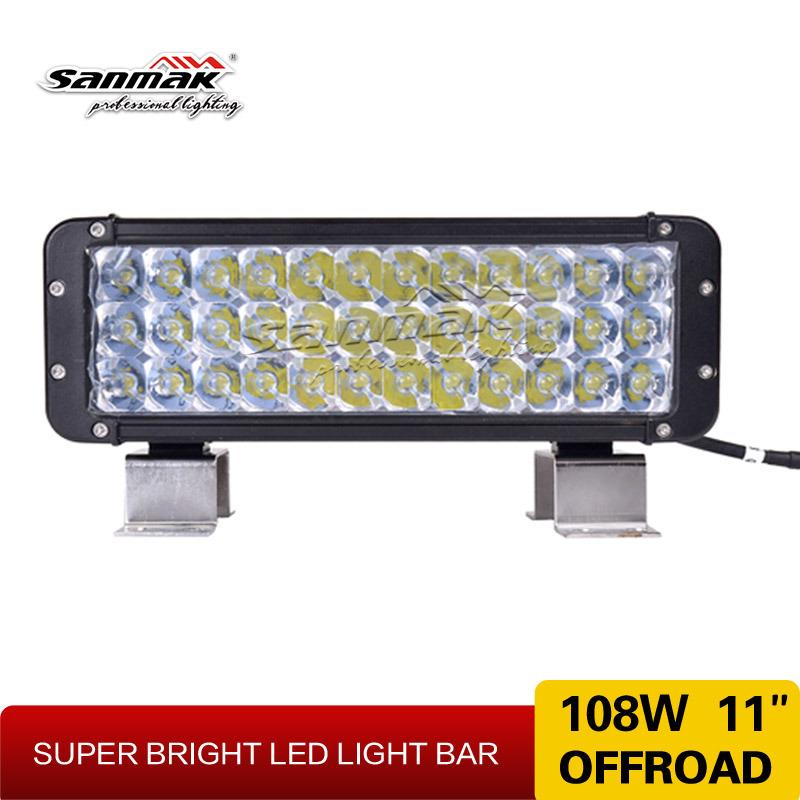 11inch Factory Wholesale LED Work Lights 108W Aluminium LED Bar