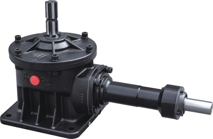 1.31: 1 Ratio Rotary Cultivator Right Angle Gearbox Mounted Arc-Shaped Bevel