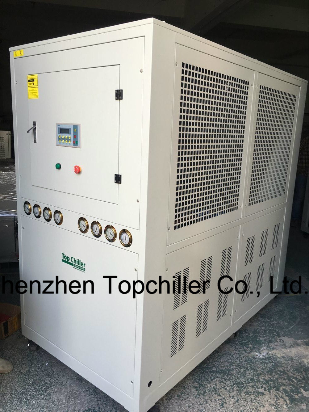 55kw (15TR) Air-Cooled Water Chiller with Shell and Tube Heat Exchanger