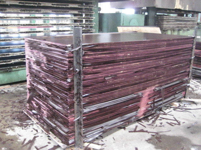 Brown Film Faced Plywood, Hight Quality Film Faced Plywood, Size 1220X2440X18mm, Poplar Core, Gossy Surface