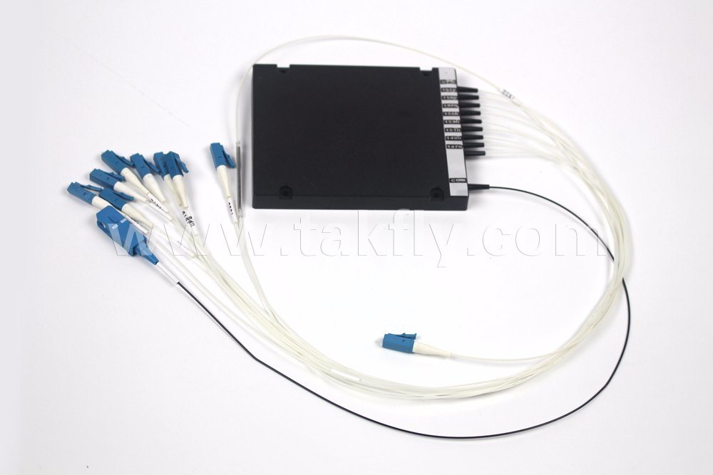 High Channel Isolation 4, 8, 16CH 1270~1610nm Fiber Optic CWDM