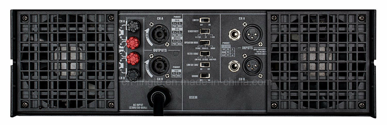 Mt1201 Professional Class H Hot Sell High Power Amplifier