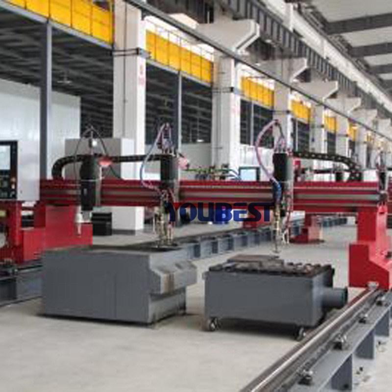 CNC Plasma Flame Small and Big Metal Pipe Profile Cutting Machine