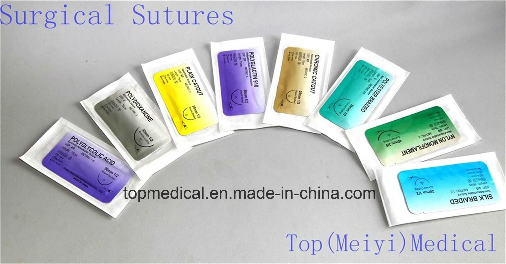 Surgical Needle Surgical Suture Surgical Suture with Needle