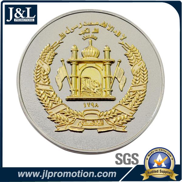 Die Struck Bronze Two Tone Plating Coin