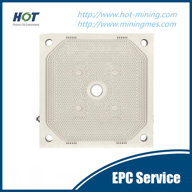 EU Standard Hydraulic PP Membrane Filter Press Plate