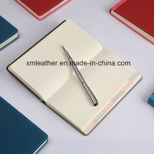 Leather Cover Paper Writing Memo Office Supply Book