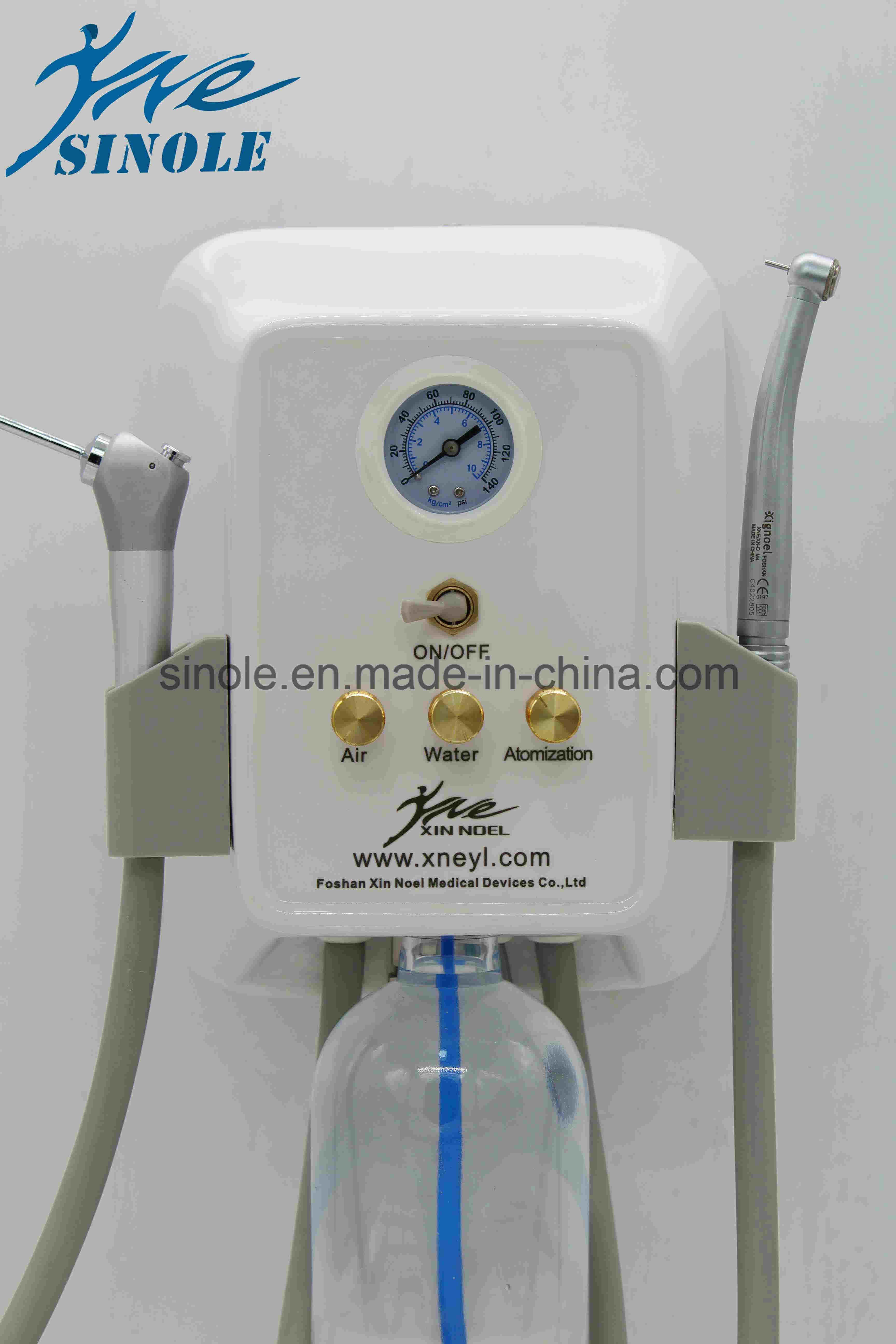 Plastic Portable Dental Unit with Syringe (7-04)
