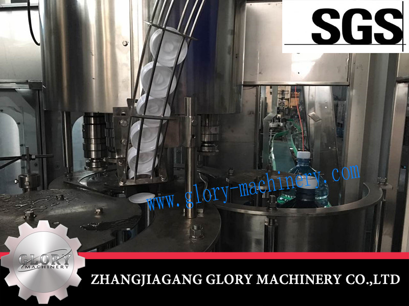 5L-16L Rotary Water Automatic Washing Filling Capping 3in1 Monobolc Machine