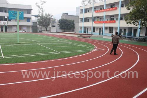 High School Sport Athletic Tracks Material