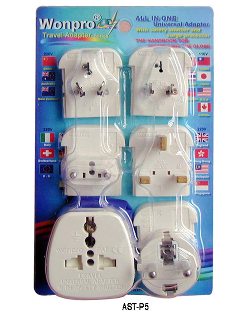 Travel Adaptor All in One