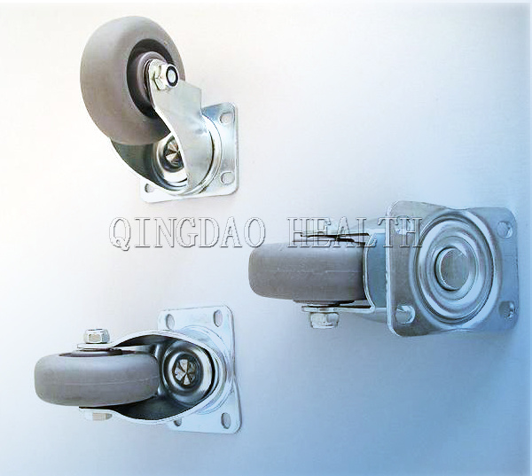 3.5 Inch TPR Swivel Caster