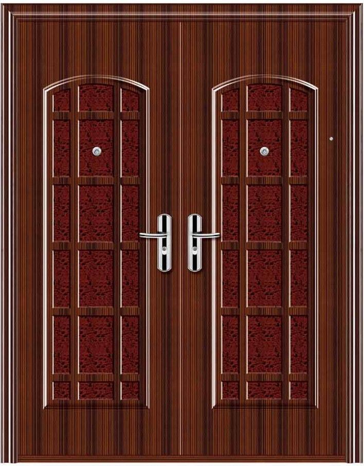 Security doors steel security door home depot for Steel doors for home