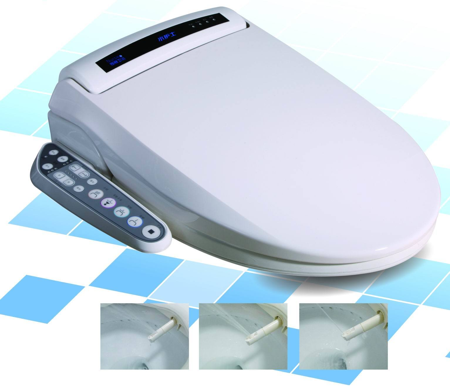 electronic bidet wn 970 china electronic bidet automatic toilet seat