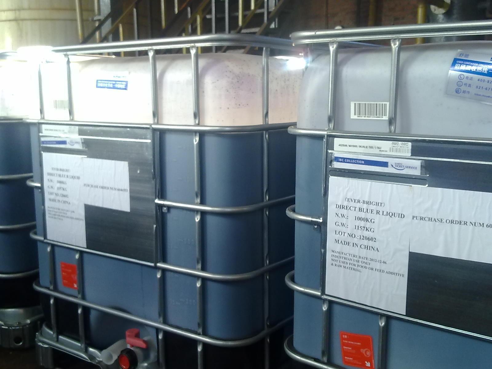 Paper Dyestuff (Liquid Direct Blue R)